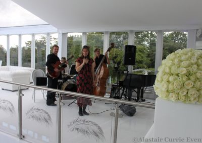 Eileen Johanna Jazz and Swing Quartet Wedding