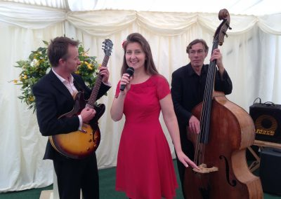 Eileen Johanna Trio, Wedding Marquee, Bath
