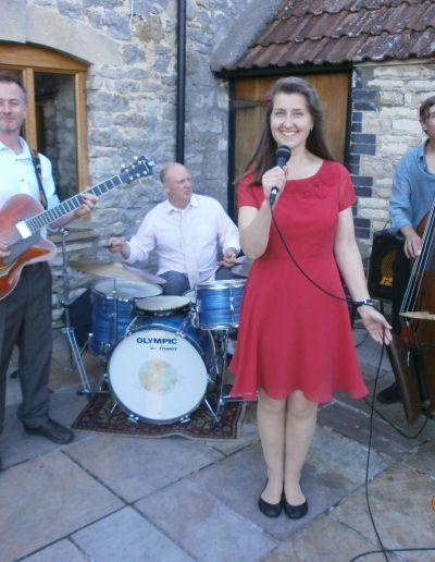 Eileen Johanna Jazz and Swing Quartet