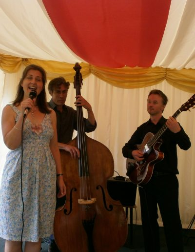 Eileen Johanna Jazz Trio, Wedding Marquee