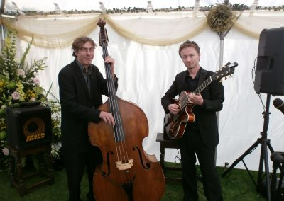 Eileen Johanna Jazz and Swing Trio, Wedding Marquee, Bath